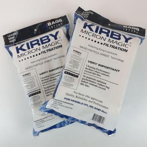 18 Kirby Micron Magic zakken papier