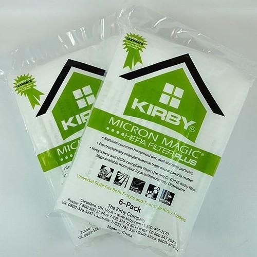 Kirby stofzuigerzakken HEPA filter PLUS 12 stuks